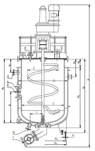 Аппараты-термосбраживатели эмалированные
